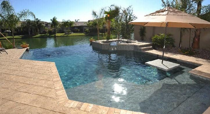 Pictures for alexon design and landscaping in gilbert az for Pool design az