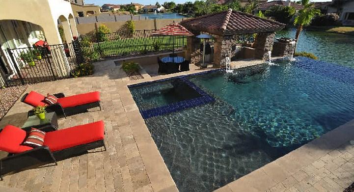 Pictures for alexon design and landscaping in gilbert az for Pool builders in az