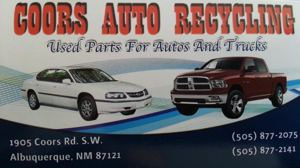 Auto salvage parts albuquerque nm 16