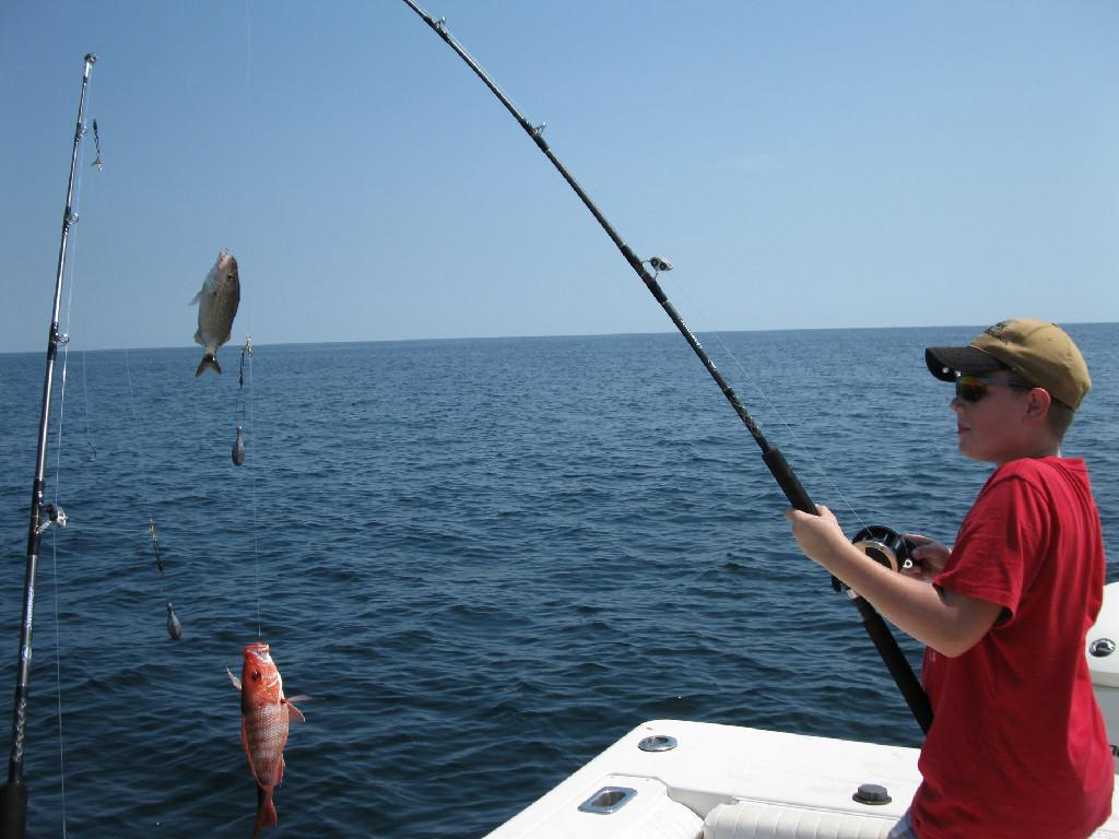 Deep sea fishing destin fl from john gibson marine for Fishing at the sea