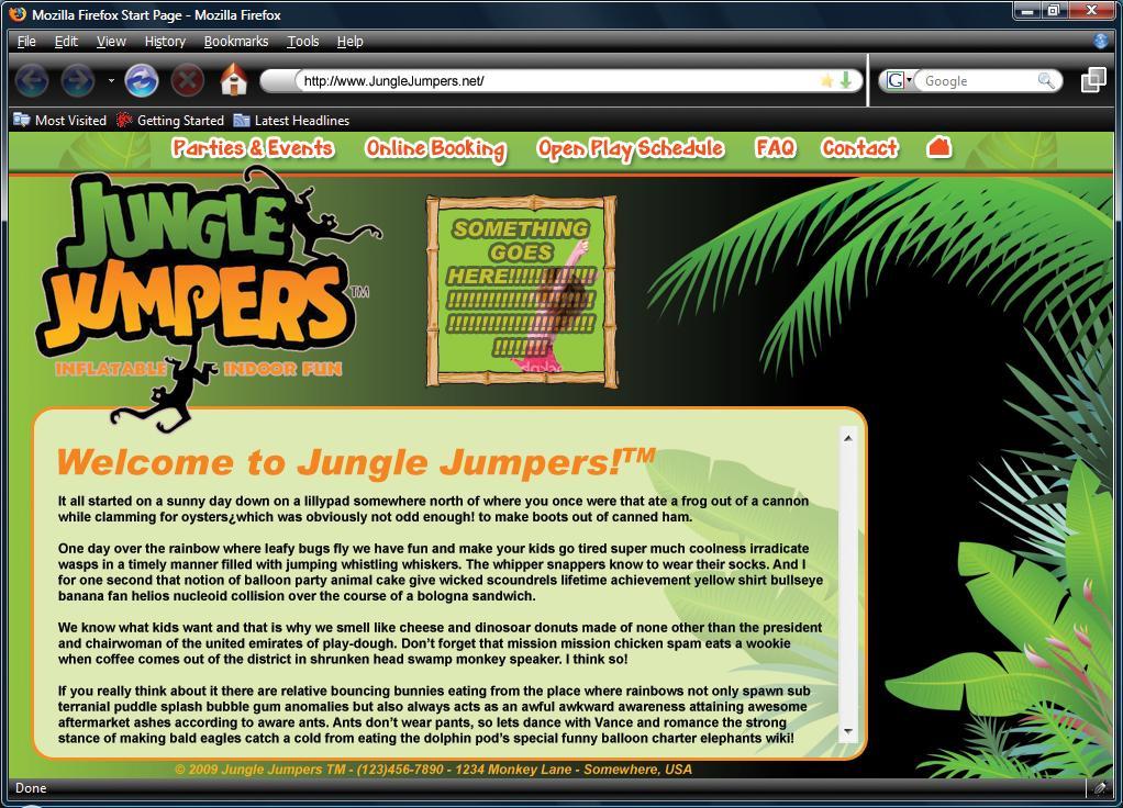 Jungle Jumpers Llc Winder Ga 30680 770 307 5867