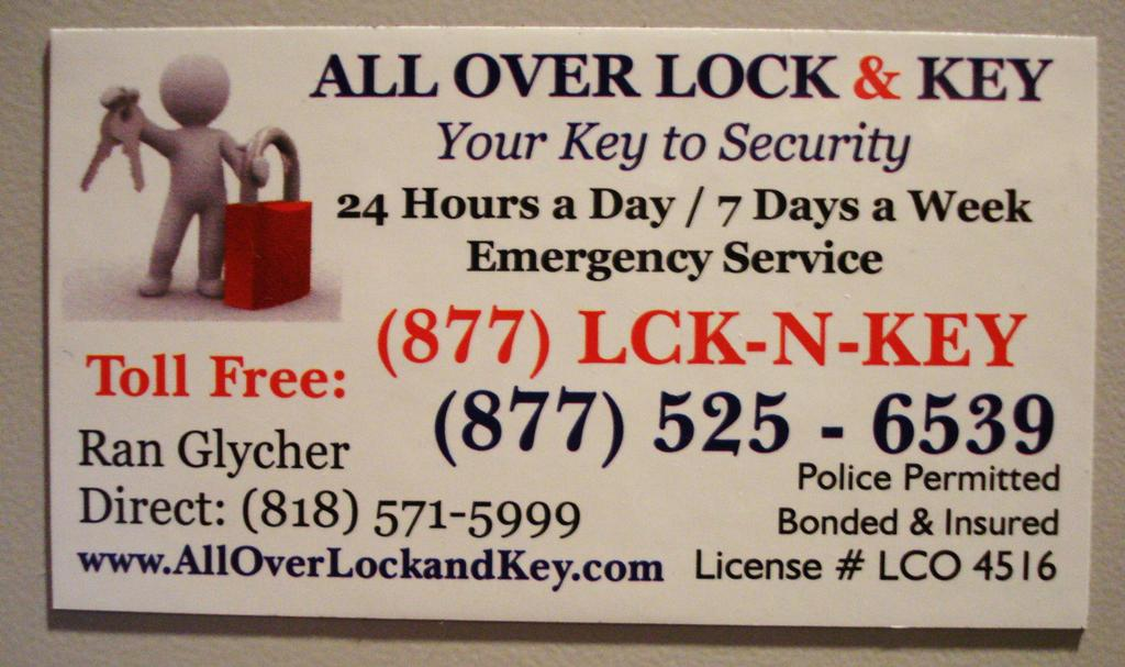 All Over Lock & Key - \