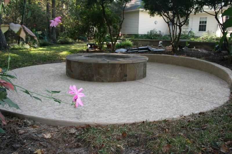 Fire pit from outdoor amenities pool co in spring tx 77387 for Outdoor furniture 77386
