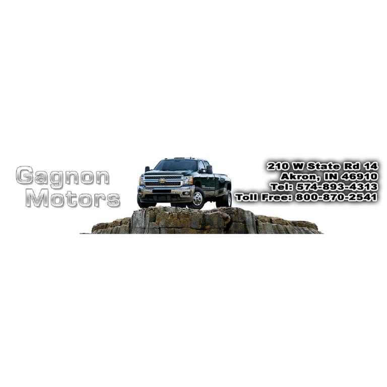 Gagnon Motors Akron In 46910 574 893 4313 Auto Repairs