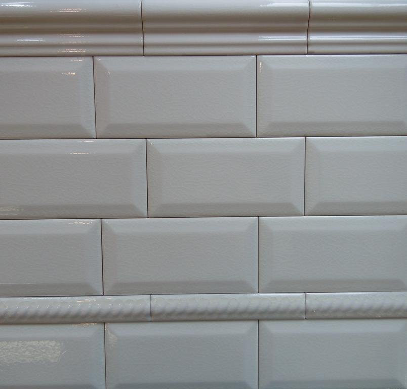 Adex-3x6-Beveled Crackle Subway Tile White from Classic
