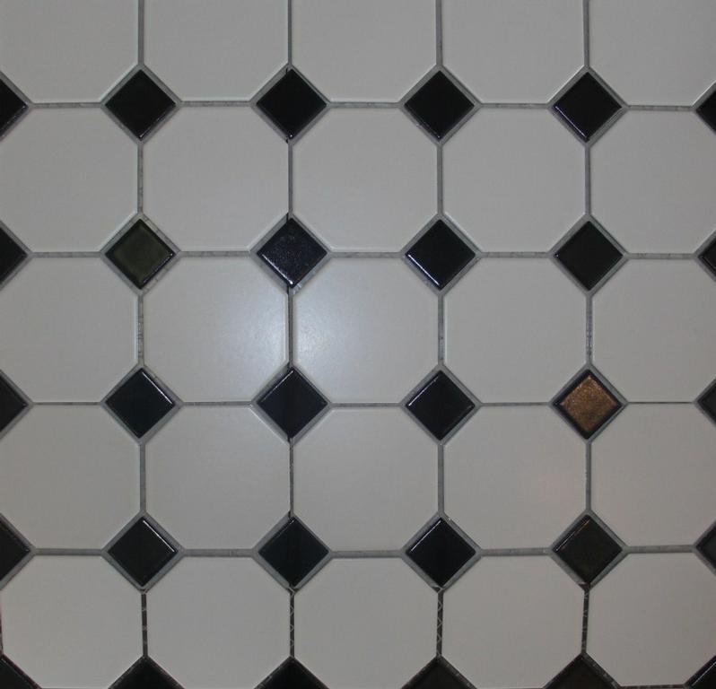 Pics Photos Floor Tiles White Octagon Ftw