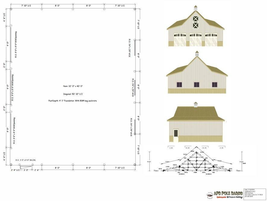 Pictures for apb pole barns in san antonio tx 78240 Pole barn design plans