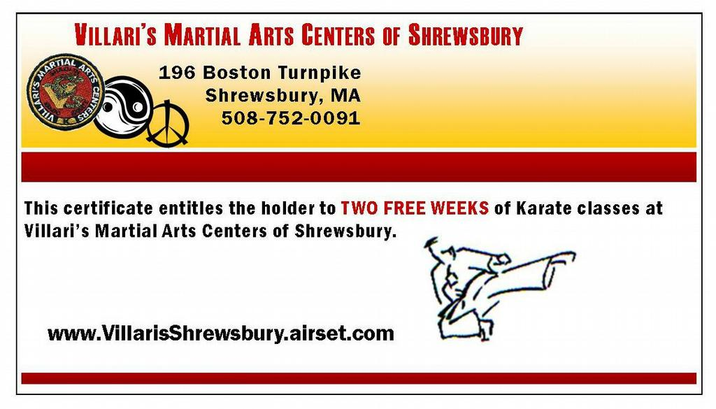 Villari's Martial Arts Centers Of Shrewsbury  Shrewsbury. Simple Monthly Budget Worksheet Excel Template. Business Plan For Real Estate Agents Template. Outlook Calendar Template 2015 Template. Monthly Calendar Word Template Lrfyg. Rental Increase Template. Sample Of Recommendation Letters For Students Template. Mla Format On Open Office Template. Bill Of Lading Template Google Docs