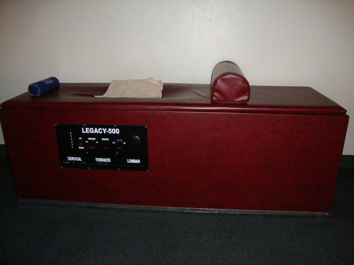 chiropractic traction machine