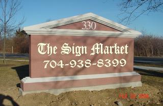 Sign Market Llc - Kannapolis, NC