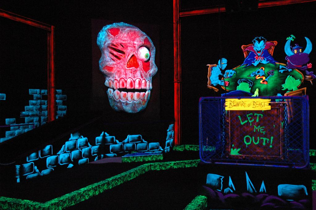 This is a graphic of Lively Monster Mini Golf Coupons Printable