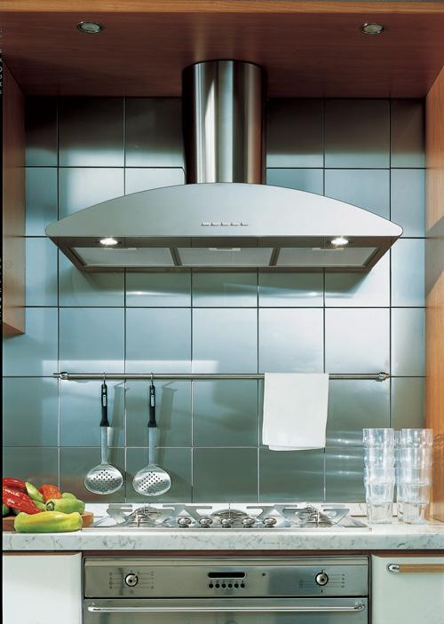 Galaxy Range Hood by Futuro Futuro from Futuro Futuro in Brooklyn - Corner Range Hood Mantle Images