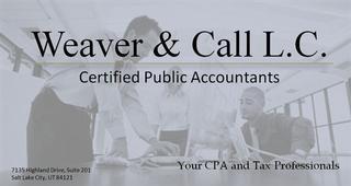 Call, Randall R, Cpa - Weaver & Call Lc - Midvale, UT