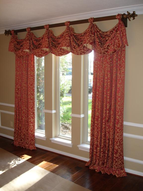 Elegant valances for windows for Elegant windows