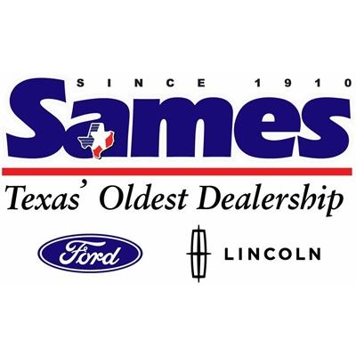 new sames logo from sames ford lincoln in corpus christi, tx 78415