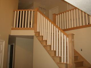Stair Handrail On Park City Utah Stair Rail Jpg By Apex Carpentry West  Jordan 84084
