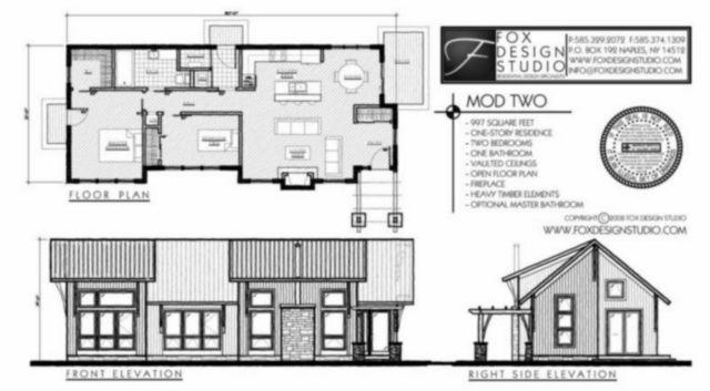 Mod Two Modern House Plan From Fox Design Studio In