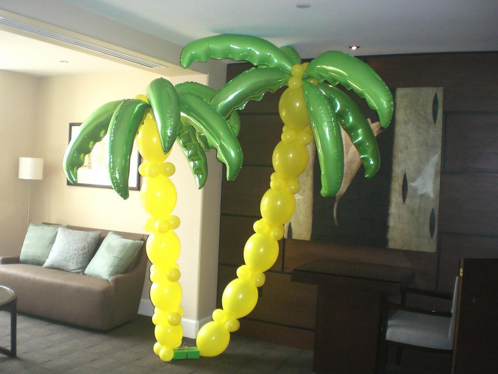 Пальмы из шариков