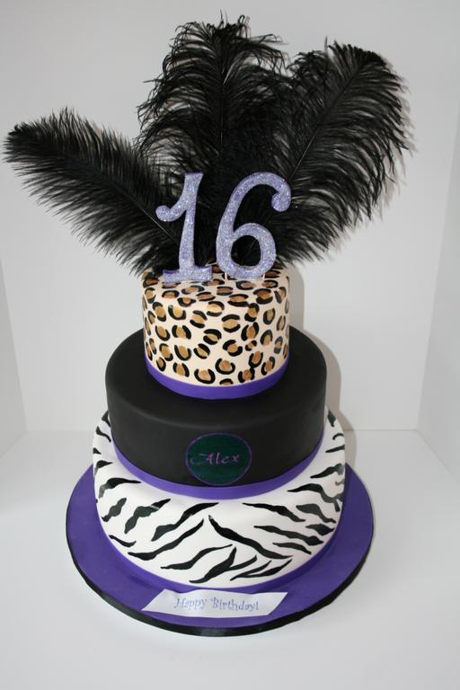 Animal Print Cake Pictures : Pictures for Sweet Grace, Cake Designs in Haworth, NJ 07641
