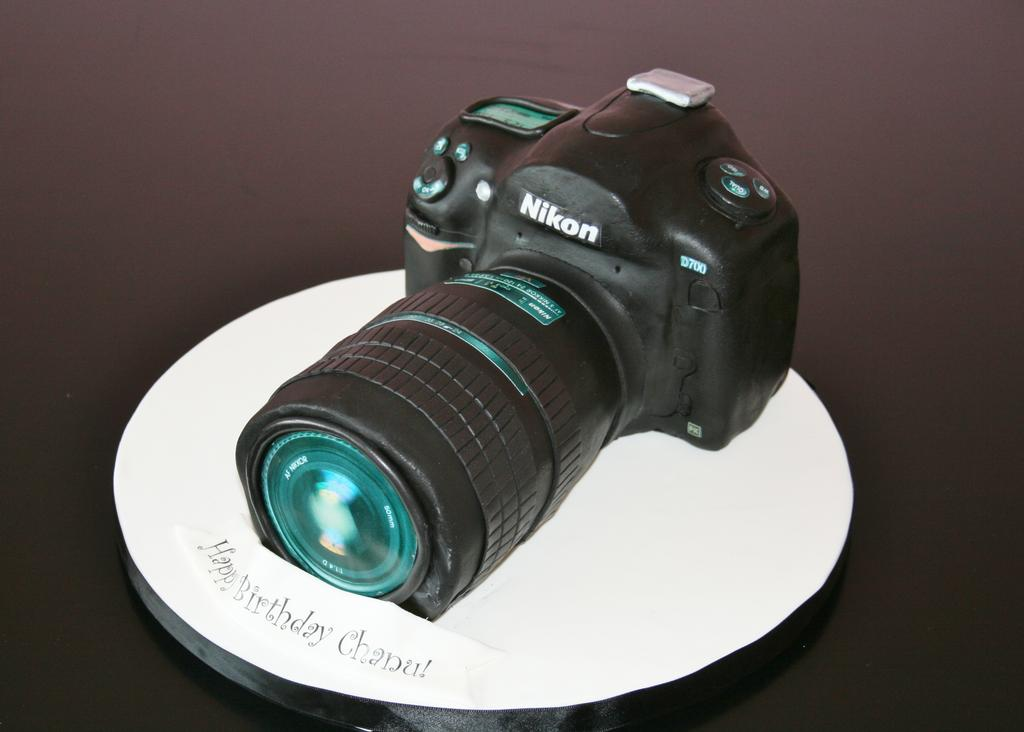 Nikon Camera Cake From Sweet Grace Cake Designs In