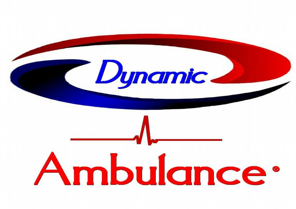 Ambulance Logo By dynamic ambulance,inc.