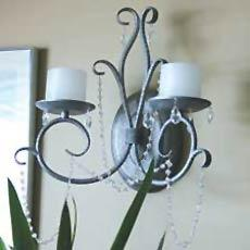 Double Wall Sconce Shandlier  ...
