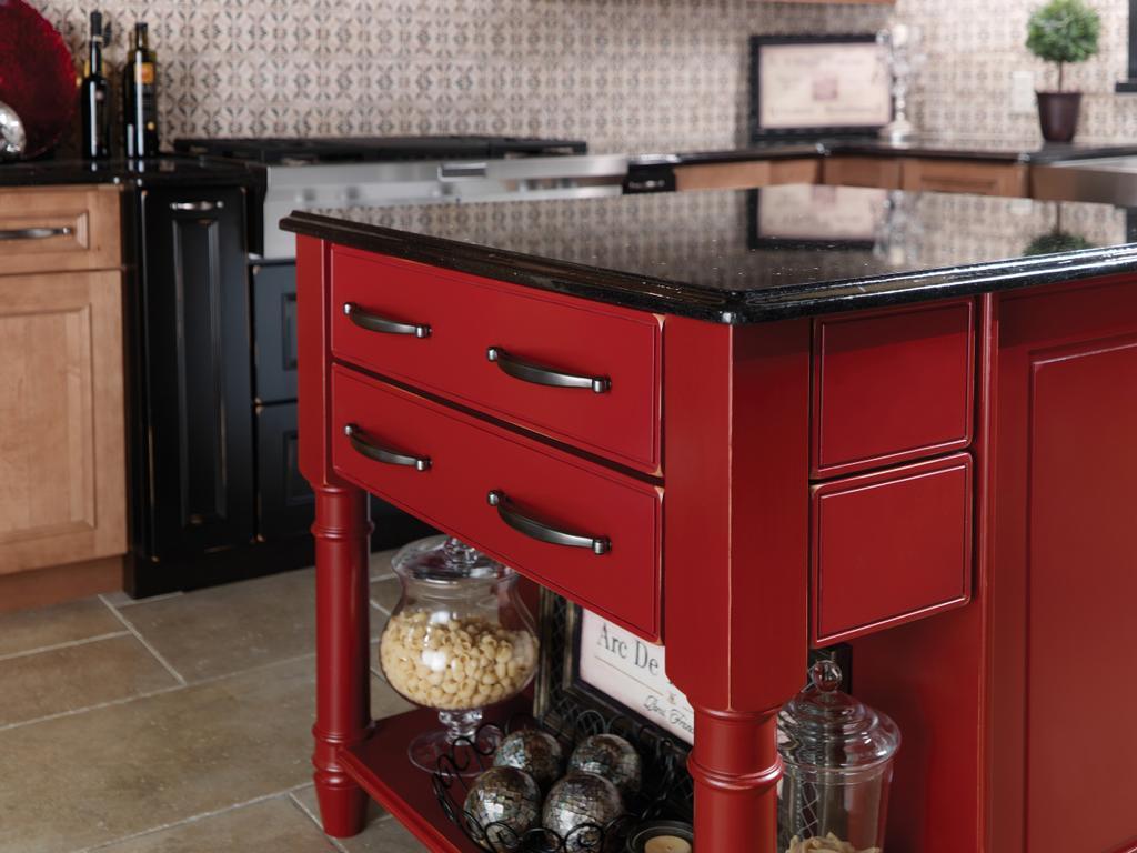 Phoenix Az Merillat Red Kitchen Island Black Granite Countertop From Kitchen Cabinets Refinishing In Mesa Az 85213