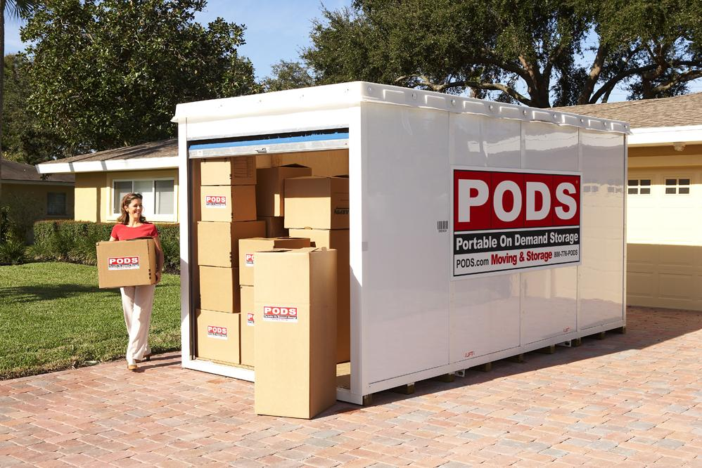 Pods Is Your Moving And Self Storage Container Solution For Local Or Long Distance
