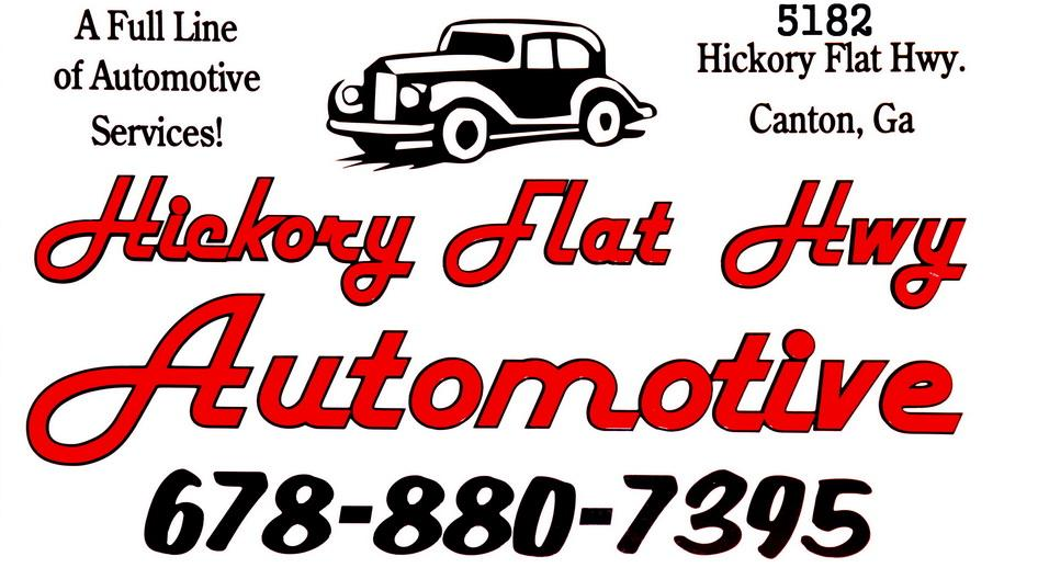 Hickory flat hwy automotive canton ga 30115 678 880 7395 for Hickory flat