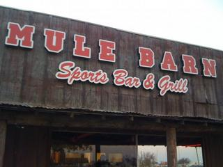 Mule Barn Sports Bar & Grill - Justin, TX