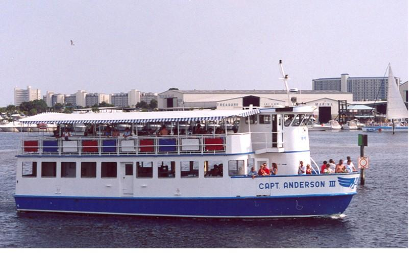 Captain Anderson Dinner Cruise Panama City Beach Fl