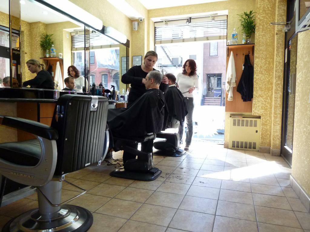 Old Barber Chairs >> Prestige Barber Shop - New York NY 10022 | 212-752-4758 ...