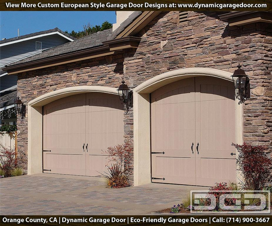 Eco friendly carriage garage doors in composite wood for Eco friendly doors