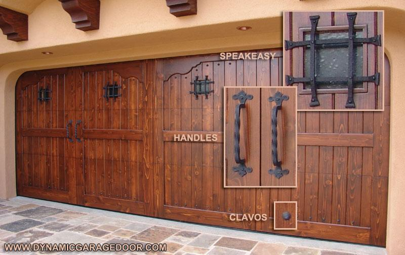 Dynamic garage door repair custom garage door designs for Rustic wood garage doors