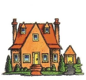Cartoon Orange Housef Cartoon Houses Pinterest Cartoon - Big cartoon house