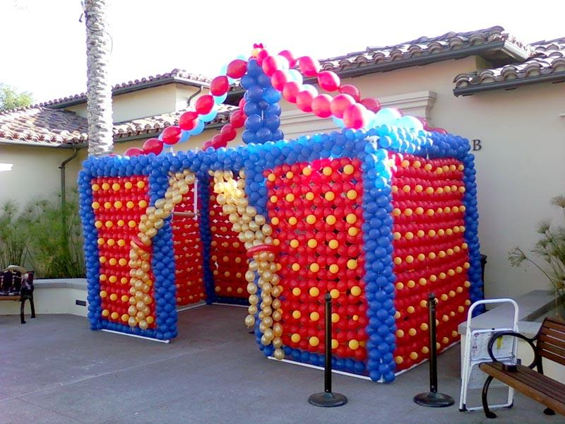 Uk How To Make A Balloon Circus Tent 96