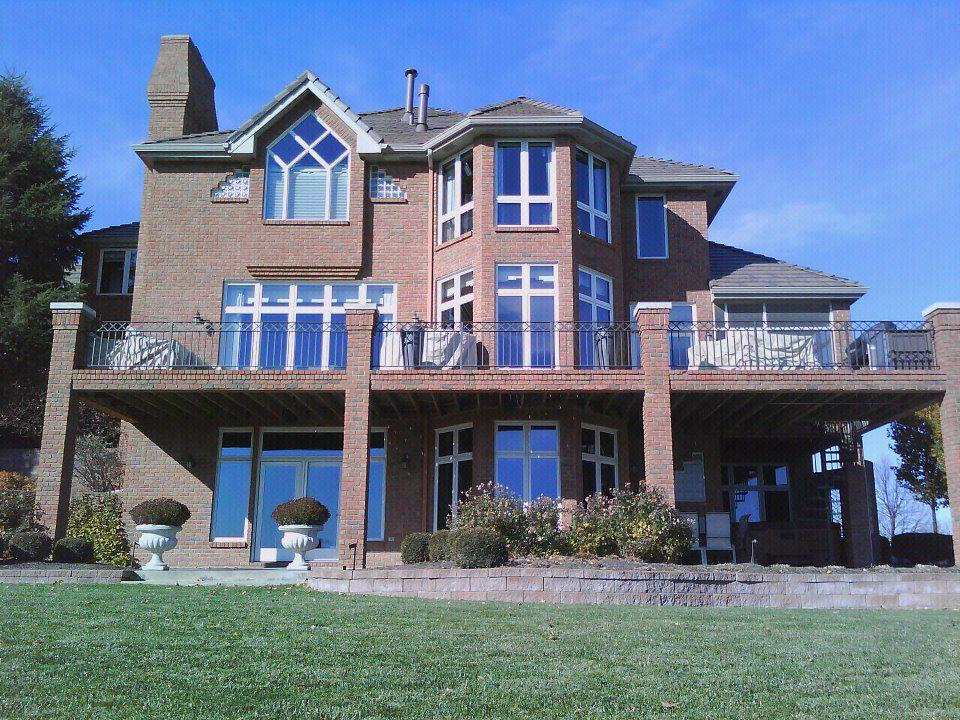 Big House Clean Windows From Corelli Window Cleaning In Omaha NE