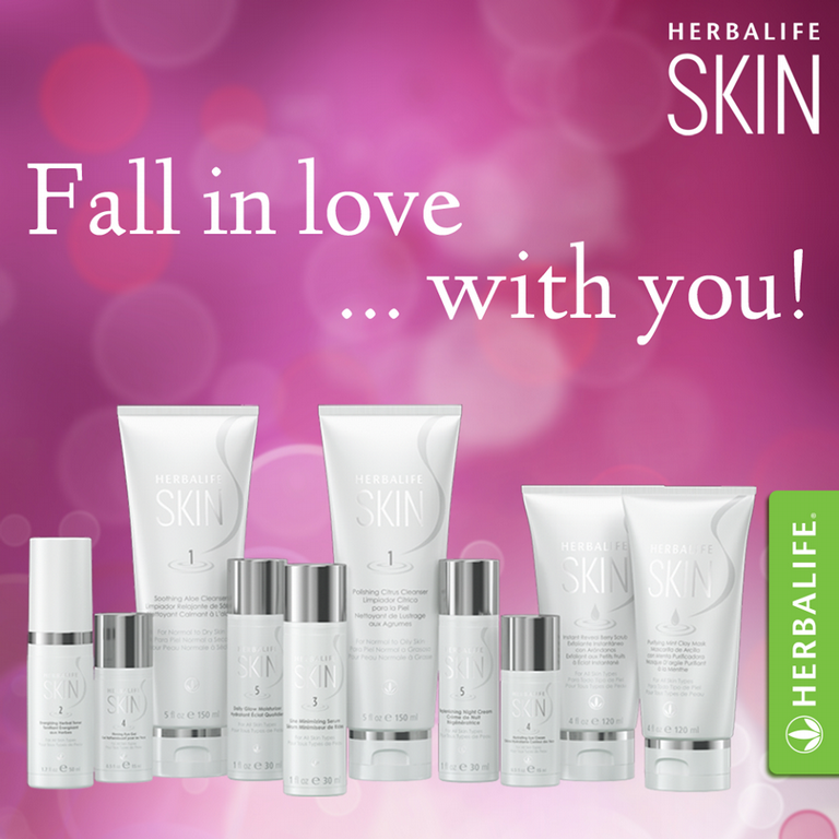 Herbalife skin fall in love wi by claudia hill herbalife independant