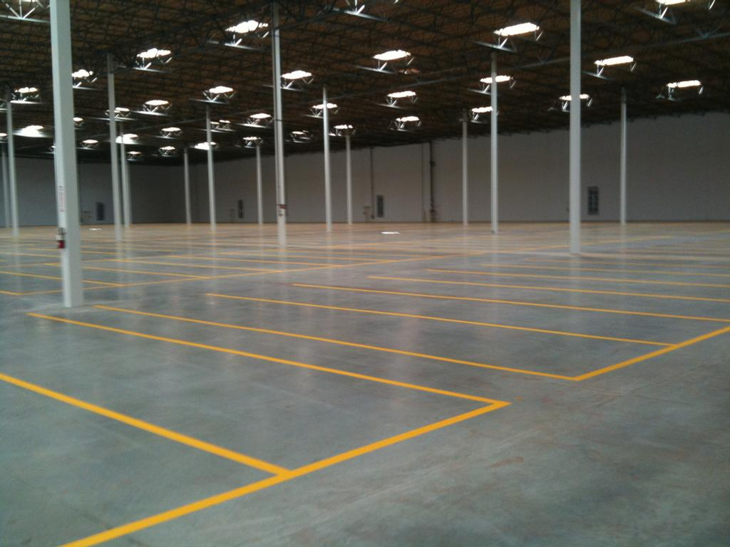 1,000,000,Sq Ft Warehouse by A Cut Above Painters