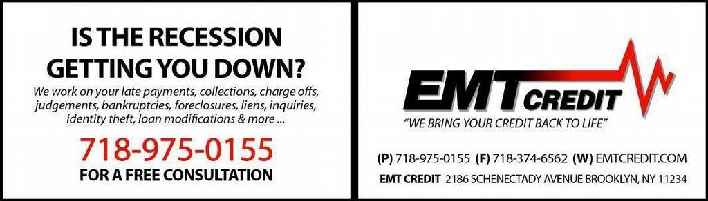 Brooklyn credit repair brooklyn ny 11234 718 975 0155 brooklyn credit repair emt business card b colourmoves