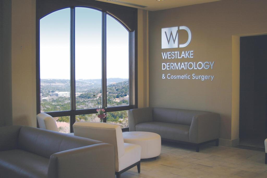 new med wait room from Westlake Dermatology in Austin, TX 78746