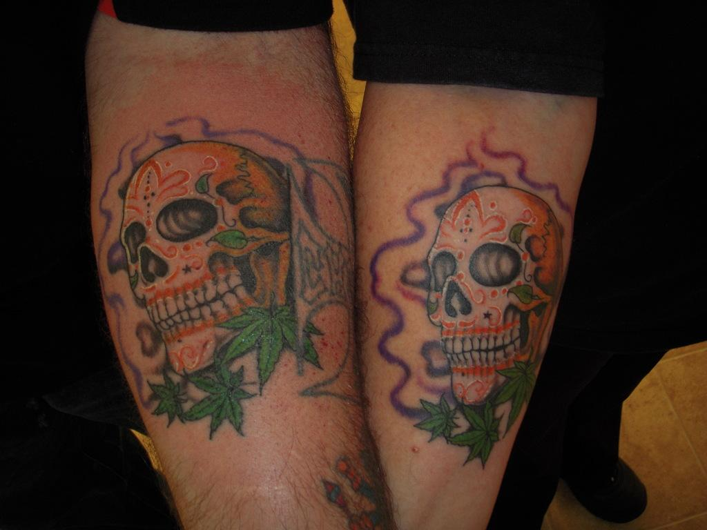 Description: Partner tattoos