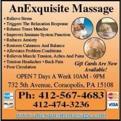 Anexquisite Massage - Coraopolis, PA