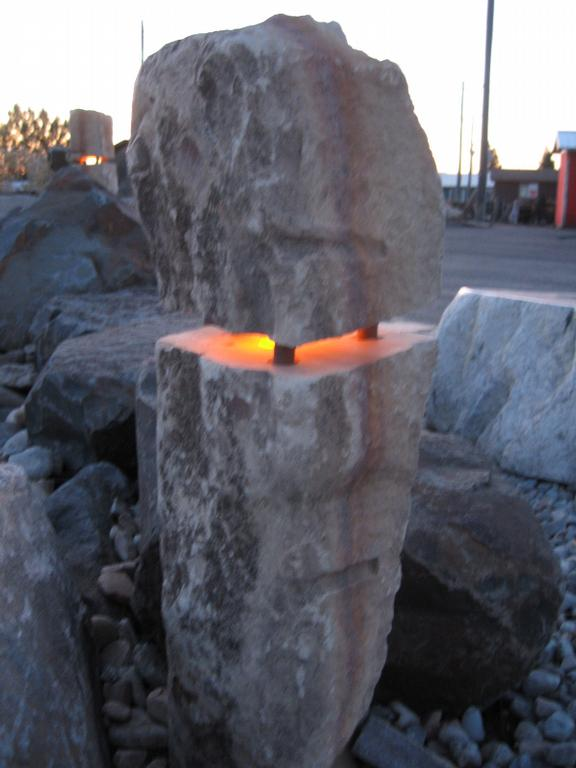 Rock light from bedrock landscape supply in coeur d alene id 83815 rock light by bedrock landscape supply mozeypictures Image collections
