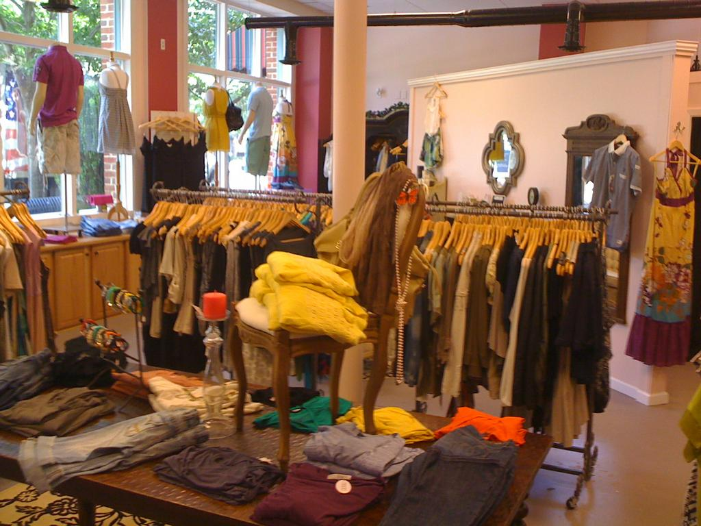 s clothing boutique