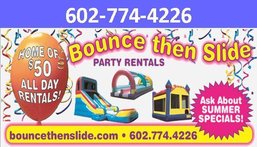 ... from Water slide rentals and Bounce House Rentals in Phoenix, AZ 85037