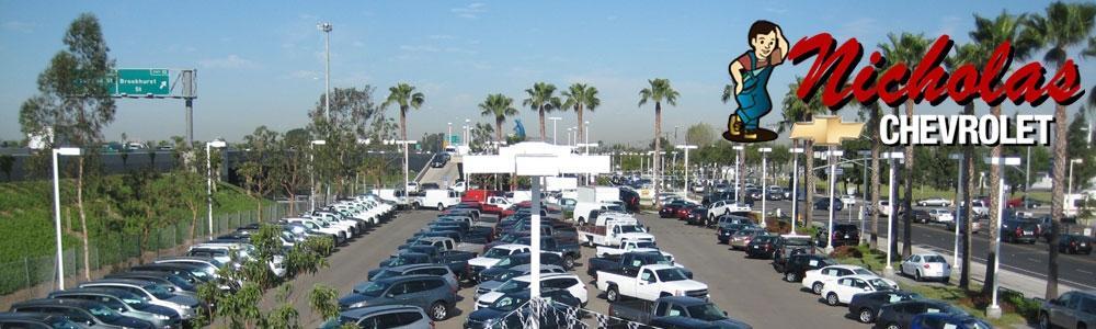Nicholas Chevrolet Garden Grove CA 92843 877 545 1182 Auto Parts