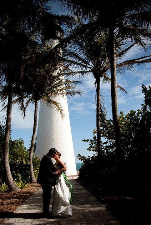 Beach Wedding Lighthouse Bill Baggs Cape Florida State Park Key Biscayne