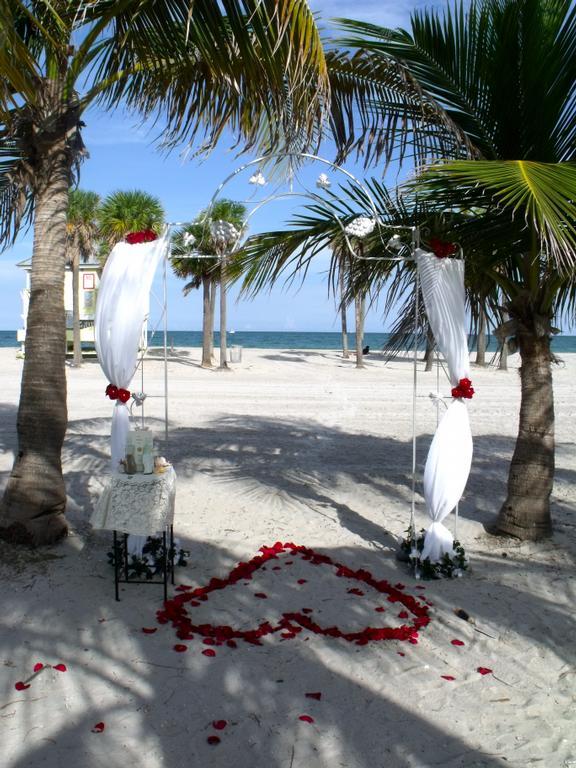 Beach Wedding Crandon Park Key Biscayne Fl From