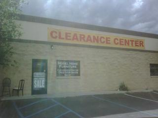 Model home clearance ctr